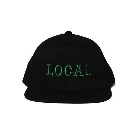 CUTRATE LOCAL CAP BLACK
