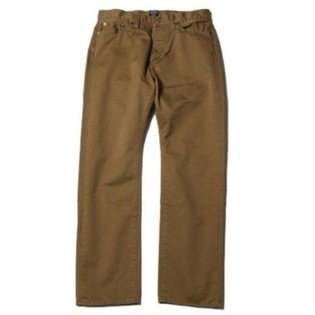 CUT RATE 5 POCKET SLIM CHINO PANTS BEIGE CR-16ST060