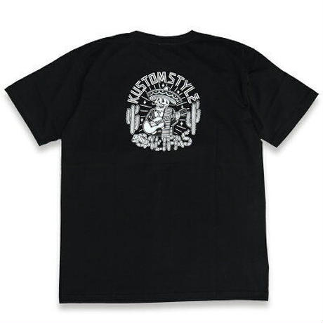 "KUSTOMSTYLE ""CALIFAS"" TEE BLACK"