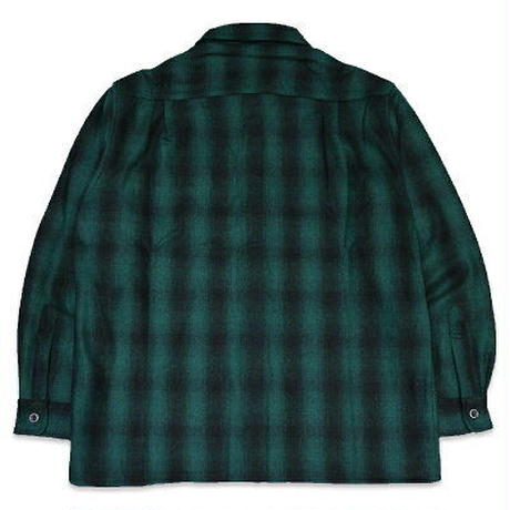 "KUSTOMSTYLE""LYNWOOD"" WOOL BOARD SHIRTS GREEN"