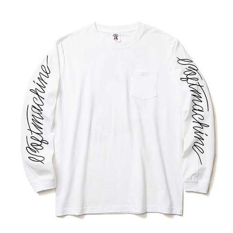 SOFTMACHINE INKED MESSIAH L/S WHITE