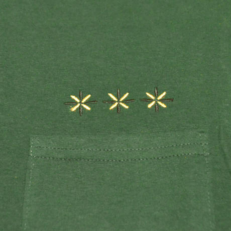 HARDEE BURN POCKET T-SHIRT GREEN