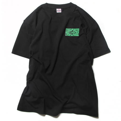 CUTRATE BOX LOGO T-SHIRT BLACK