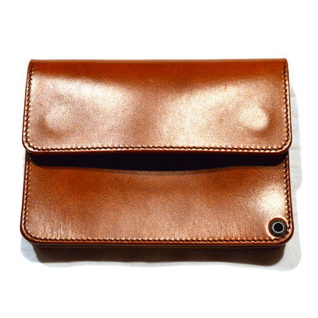 RADIALL ANCHOR - SHORT WALLET WHISKY