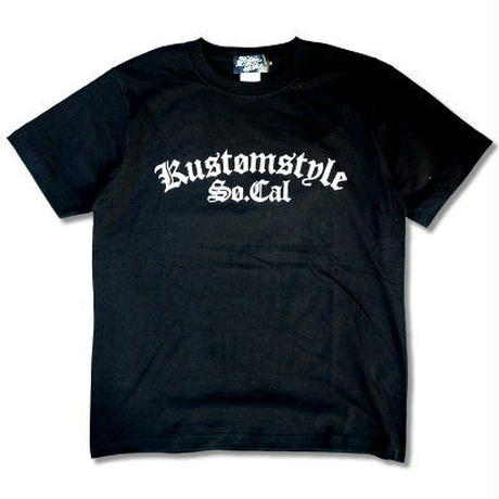 "KUSTOMSTYLE ""QC"" TEE BLACK"