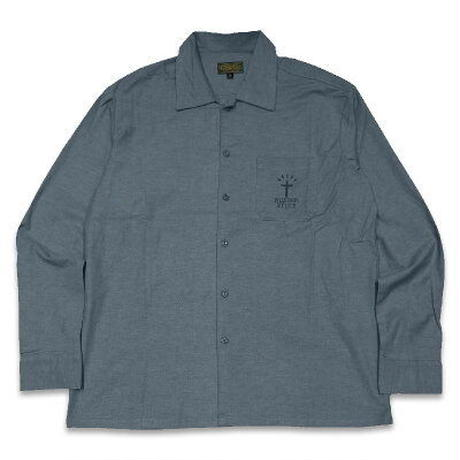 "KUSTOMSTYLE ""RECOGNIZED"" CHAMBRAY L/S SHIRTS"