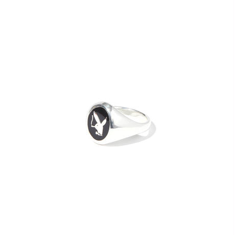 """RADIALL  """"BUNNY"""" PINKY RING SILVER"""