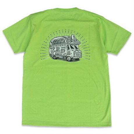 "KUSTOMSTYLE ""TACO MESA FOOD TRUCK"" TEE LIME"