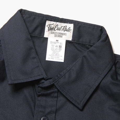 CUTRATE L/S WORK SHIRT NAVY