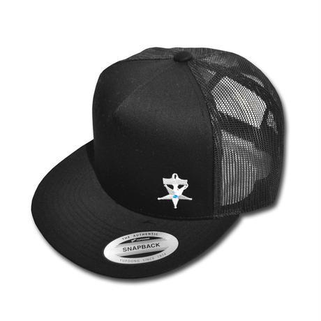 HARDEE NO TRAFFIC MESH CAP BLACK