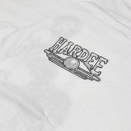 HARDEE DIRTIE WASH T-SHIRTS WHT