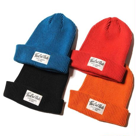 CUT RATE KNIT CAP BLUE CR-18SS014