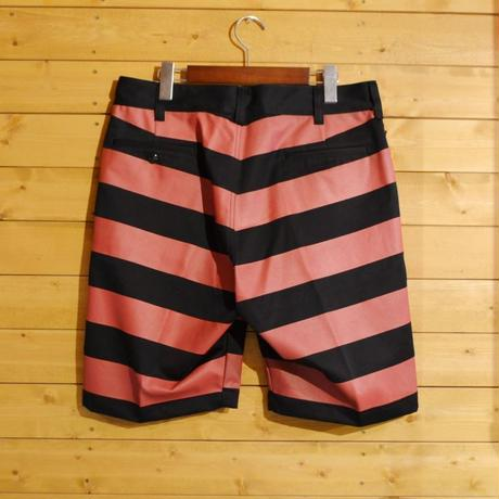 BORDER SHORT PANTS BLACK