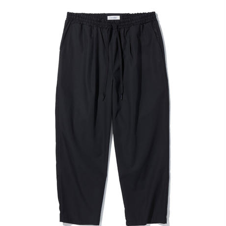"""RADIALL """"CONQUISTA"""" STRAIGHT FIT EASY PANTS BLACK"""