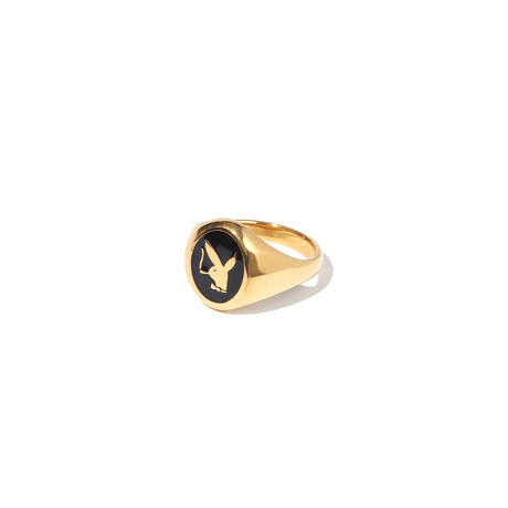 """RADIALL  """"BUNNY"""" PINKY RING 18k plated"""