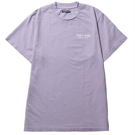 BORN X RAISED BXR LIQUOR STORE TEE LILAC