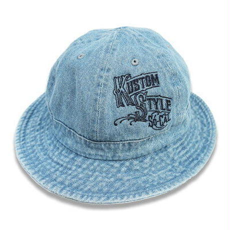 "KUSTOMSTYLE ""DELICIAS"" BOWL HAT DENIM"
