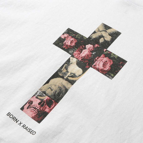 BORN X RAISED CRUCIFIY TEE