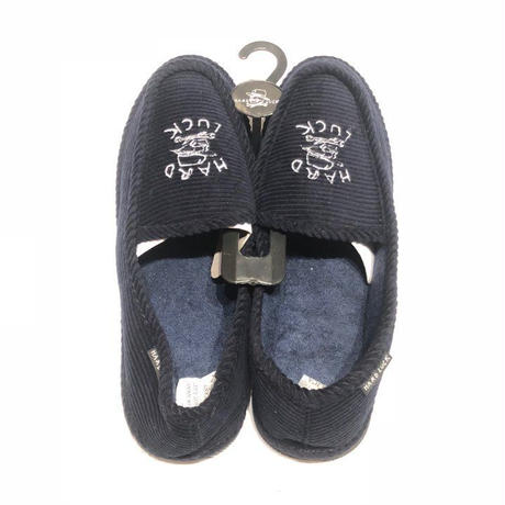 HARD LUCK TIMES SLIPPERS NAVY