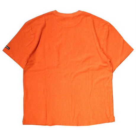 RADIALL    BAJA - CREW NECK POCKET T-SHIRT   BLOOD ORANGE
