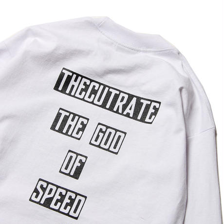 CUTRATE L/S PHOTO T-SHIRT WHITE