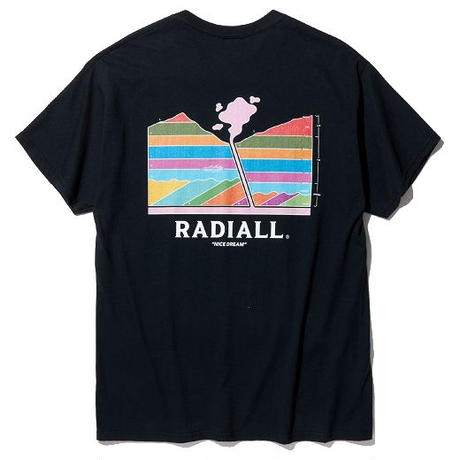 RADIALL  MANTLE - CREW NECK T-SHIRT S/S BLACK
