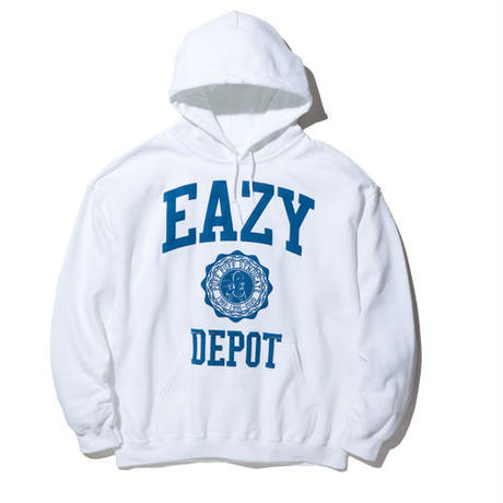 RADIALL EAZY DEPOT - HOODIE SWEAT SHIRT L/S WHITE