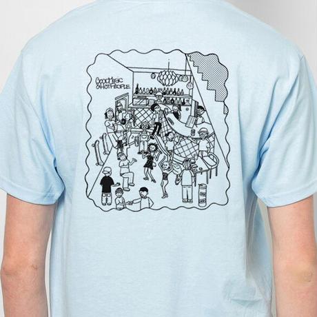【デッドストック】DISK × heavysick ZERO (T-shirt)