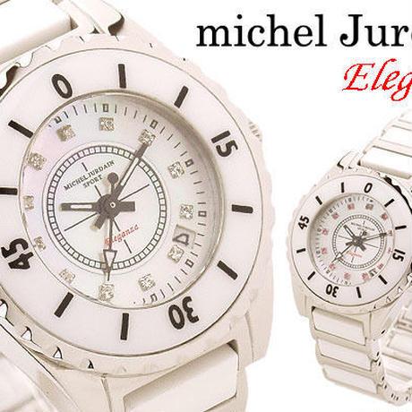 エレガンツァ ホワイトセラミック J12モデル レディース腕時計 ミッシェルジョルダン