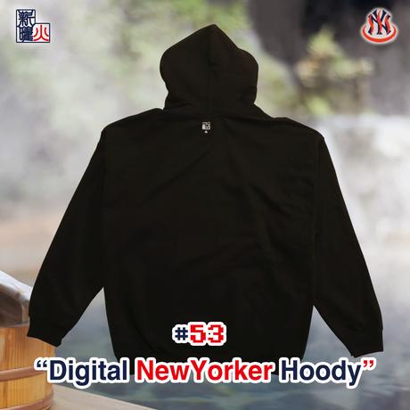 Digital NewYorker Hoody(BLACK)