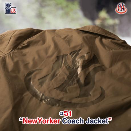 NewYorker Tsubushi CoachJacket