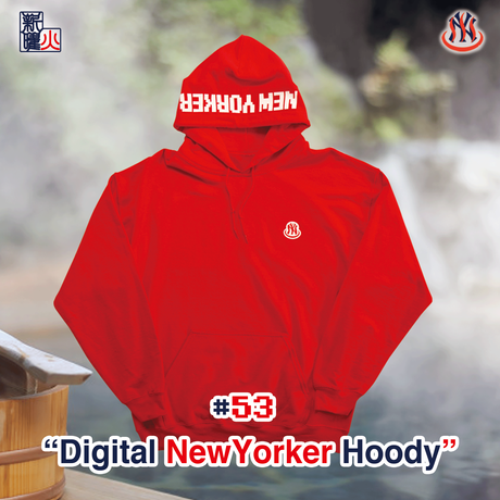 Digital NewYorker Hoody(RED)