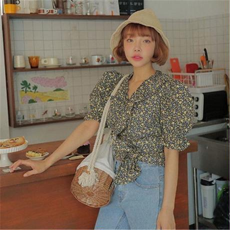 Big puff sleeve blouse