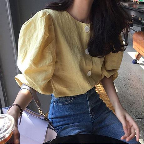 Big puff sleeve tops