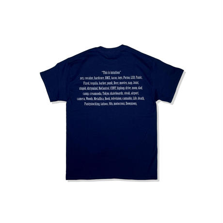 intuition Pocket T/SH (NAVY/GRY)