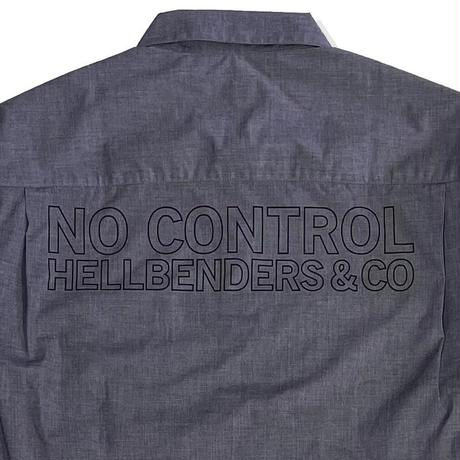 NO CONTROL Work L/S SH (GRY)
