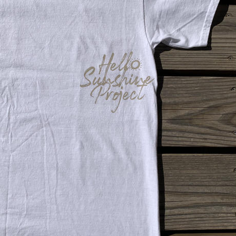 TonyTaizsun x Hello Sunshine Project Shake Hand Tee Beige