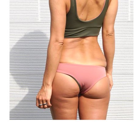 Maybe Pink&Olive Cheeky Bottoms