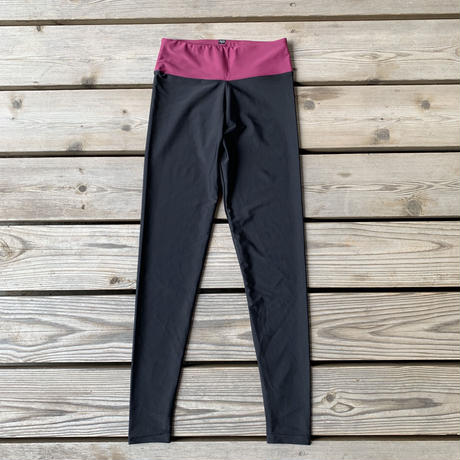 Grape Red VB Leggings