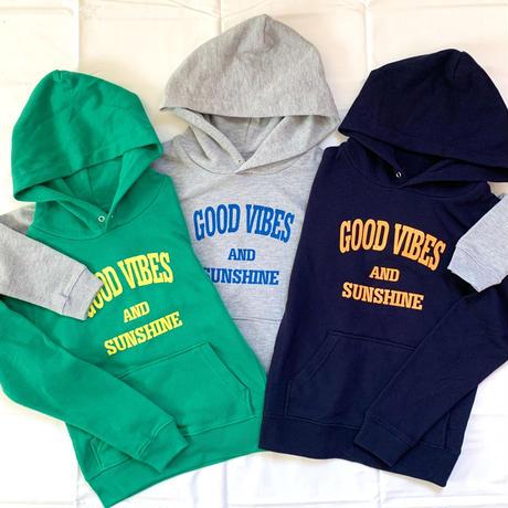 Kids: GoodVibes&Sunshine Hoodie Navy