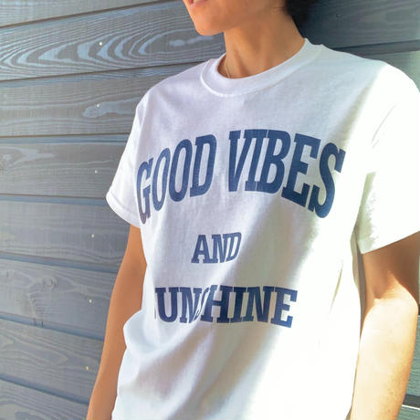 Good Vibes and Sunshine  T Navy Vibes