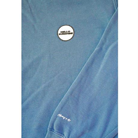 Hello Sunshine Washed Crew Blue Jean