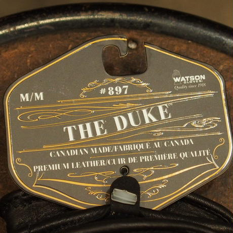 WATSON GLOVES - THE DUKE - SHORT - BLACK