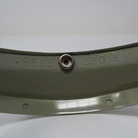 BELL 520 VISOR ORANGE SILVER