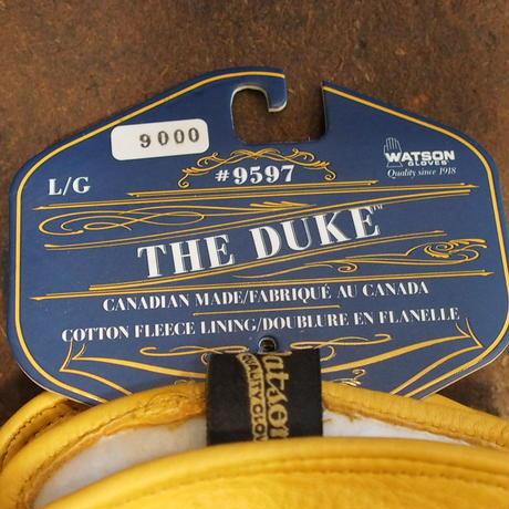 WATON GLOVES - THE DUKE - GOLD
