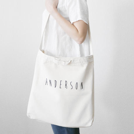 2 way tote white