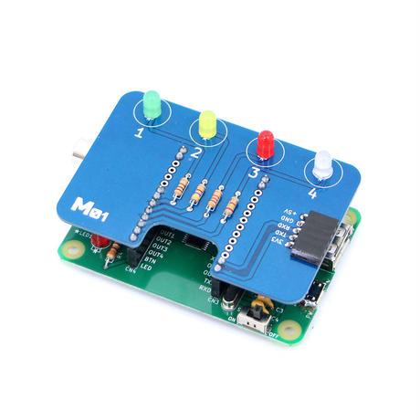 4色LEDボード M01