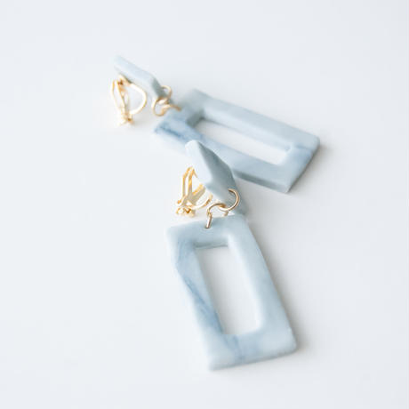Lack of Geometry Earrings - Lack of Square
