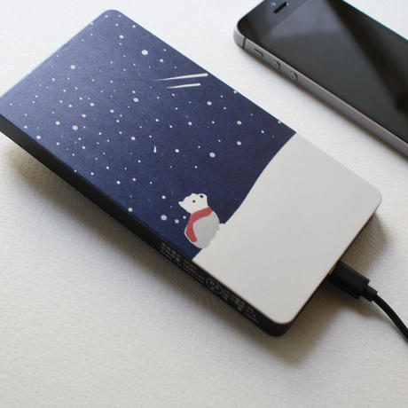 星に願いを モバイルバッテリー/高速充電タイプ 10000mAh