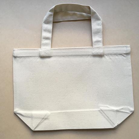 白ワンコ ナチュラルトートバッグS